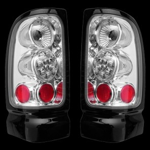 Dodge Ram PickUp 1994-2002 helderglas Achterlichten set chroom LED