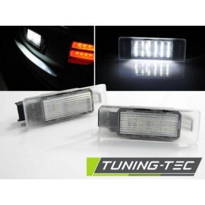 Led kentekenplaat - PEUGEOT 308 407 CITROEN C3,C4 LED
