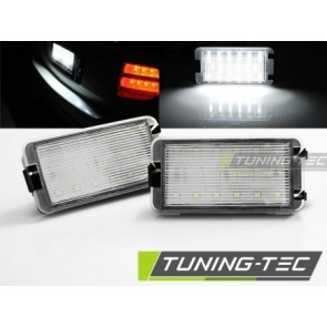 Led kentekenplaat verlichting. - SEAT IBIZA / CORDOBA / LEON / ALTEA / AROSA / TOLEDO LED