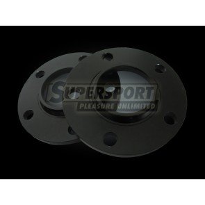 Aluminium spoorverbreders set 20mm per as VW Golf 4